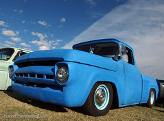 Ol Blue (Swanee 3) Tags: ford truck pickup f100 1957 custom