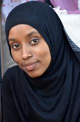 A Modest Beauty (v4nl4dy) Tags: portrait girl beauty veil somali