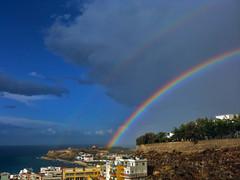 Rethymno_Rainbow_10-10-11 (tsivas) Tags: rainbow view crete rethymno