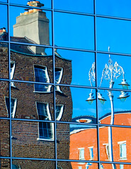 Symbols of Dublin (Steve-h) Tags: november blue autumn ireland dublin orange brown sun sunlight white black art tourism sunshine architecture canon s