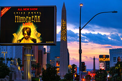 Las Vegas June-July_280616_1286 (Steve Bark) Tags: las vegas nevada north america usa sunrise dawn building architecture criss angel mindfreak luxor fuji fujifilm xpro1 xtrans