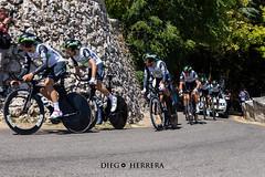 Vuelta a Burgos - Contrarreloj (Diego Herrera Audiovisuales) Tags: bici ciclismo ciclista vuelta burgos equipos astana caja rural tink off bmc movistar contrarreloj