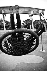 Gaining a fresh perspective (Capture the planet) Tags: fx d810 fullfame nikon nikkor photography photographer lady woman flickr camera monochrome bw blackwhite tonal contrast blackandwhite outdoors play park playground fav10 35mmf14g