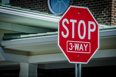 Stop 3-Way? No Comment (Doug.Mall) Tags: dogwood52 52weeks artistic challenge color photochallenge stop3way nocomment red northcarolina usa