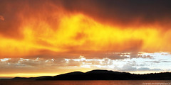 2016-07-21 Sunset (02) (Long Exposure) (1360x680) (-jon) Tags: anacortes skagitcounty skagit washingtonstate salishsea fidalgoisland sanjuanislands pugetsound guemeschannel curtiswharf sunset clouds cloud sky red yellow longexposure a266122photographyproduction sunsetcoucherdusoleil tramonto  puestadelsol   matahariterbenam  sonnenuntergang