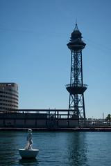 Architecture in Barcelona (ab629) Tags: torreagbar mercatdelencants barcelonaharbour casabattl