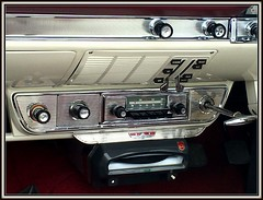 Rock & Roll Sound [Explored] (The Stig 2009) Tags: ace cafe classic ford zodiac stretched convertible london record player portable push button radio explore explored apple iphone 6s