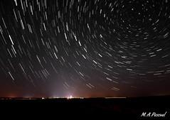 Lluvia de estrellas en FDN (Circumpolar) (mianpascual) Tags: circumpolar fuentes de nava palencia estrellas noche
