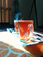 You and me let's start a day with a good old cup of tea and see how we blend. (aditi narain) Tags: tea cups brewed brewing chai two twocups teatime red redtea morning evening sunkissed sunrays sunny sunlight transparent rays home