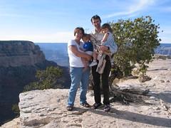 Family trip long ago (radargeek) Tags: grandcanyon tourist arizona az babysling parenting