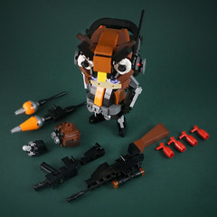 Mercenary-OwlBaby-5 (LEGO 7) Tags: mercenary owlbaby owl lego