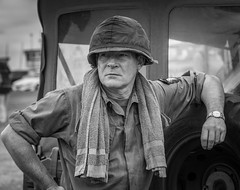 G.I. (Tom Strawn) Tags: vietnam war gi nikon d750 reenactment 24120f4 nikkor bw soldier