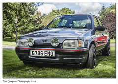 Ford Escort MkIV (Paul Simpson Photography) Tags: ford fordescort fordescortmkiv lincolnshire car carshow september2016 sonya77 imageof imagesof paulsimpsonphotography photoof photosfrom photosof classiccarshows transport motorcar british forduk