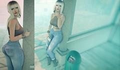 Pathetic fool... (Katy Hastings) Tags: amitie blueberry chapterfour delmay egozy fakefriends foxy meva randommatter reign ricielli shinyshabby smoking theskinnery treschic amitomo kustom9 street caprijeans catwa alice