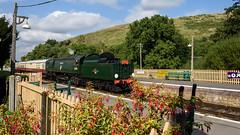 Swanage Railway 10 (Matt_Rayner) Tags: swanage railway corfe castle station steam train manston battle of britain class