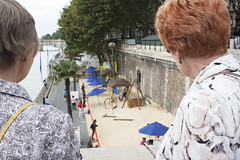 Paris Plage (David_and_Marilyn_King) Tags: paris 2016 riverseine parisplage beach