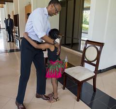 Meeting with Wendy Waeni | Kigali, 10 September 2016 (Paul Kagame) Tags: kagame wendy waeni rwanda kenya