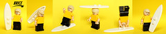 Brice de Nice (Vanjey_Lego) Tags: lego minifig minifigs minifigure minifigures brice nice bricedenice cass surf jean dujardin jeandujardin yellow