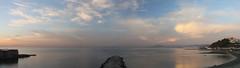 PANORAMA 444 (anyera2015) Tags: ceuta canon canon70d amanecer playa chorrillo