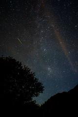 meteor (domo k.) Tags: perseidmeteorshower shootingstar xf18mf20 fujifilmxe1 night sky nightphotography astrophotography scenery stars