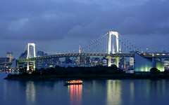 DSC_8399 () Tags: 2016 night view tokyo tower   rainbow bridge        japan odaiba daiba    television observation room       nikon d7100