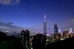 _DSC3397 (Whity1201) Tags: taipei101 scenery cityscape city buildings taipei taiwan asia sky blue night