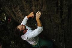Jay Niagara Glen 2 (wanderingschnaars) Tags: bouldering nature fall jay niagara glen buffalo ny canada toronto sony explore action petzl