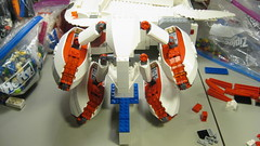 SHIPtember 2016 WIP - 12c (DJ Quest) Tags: lego shiptember 2016 space ship spaceship moc wip rear engine pod construction