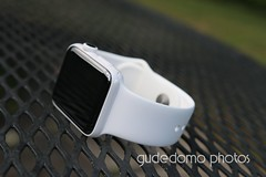 Ceramic Apple Watch with White Sport Band (gudedomo) Tags: apple ceramic watch applewatch white edition watchband band wrist accessory color combination red product 2016 orange yellow mint green bright pink salmon stand blue baby turquoise navy ocean midnight cocoa mocha nylon metal strap link bracelet milanese loop hermes leather