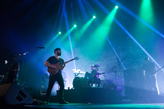 Foals (kexplive) Tags: seattle paramount paramounttheatre paramounttheater kexp foals whatwentdown slaof british indie alternative mathrock math yannisphilippakis edwincongreave