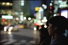Holding Back the Tears. (MichelleSimonJadaJana) Tags: portrait japan analog 35mm 50mm tokyo nikon crossing scanner documentary lifestyle snaps  epson  nikkor fm3a ais flatbed f12 vuescan v750 gtx970