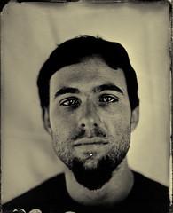 julien (sdzn) Tags: portrait paris wetplate deardorff berthiot sdzn deardorff8x10 collodionhumide chrismettraux