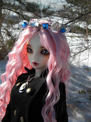 Snow princess 1 (OctoberDolls) Tags: snow ball doll chloe cameo crown bjd default jointed posable mnf snowprincess minifee