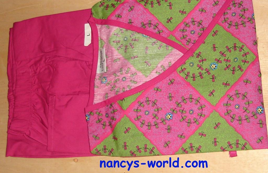 4c33506181c TRENDS SCRUB SET PINK PATCHWORK ** nancys-world.com (Bible Share)