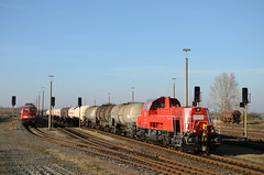 261 048-3 (n4fade) Tags: train eisenbahn railway trains db railion shunter gterzug diesellok rangierlok dbcargo signale gravita voith baureihe232 dbschenker baalberge baureihe261 2610483