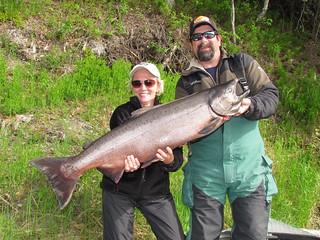 Alaska Kenai River Fishing and Saltwater 9