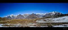 Pir Panjal Range of the Himalayas, panorama (R. Mitra) Tags: panorama mountain pass range himalayas pir panjal rhotang