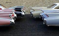 1959-1960 Cadillac Eldorado Biarritz & Seville (JCarnutz) Tags: seville cadillac eldorado biarritz diecast 124scale danburymint