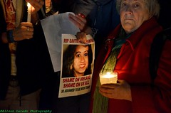 Photo Candlelight vigil for Savita Halappanavar in Galway Ireland (alison laredo) Tags: ireland galway death candle abortion tragedy law candlelight vigil 2012 17thnovember savitahalappanavar shameonireland soashamedtobeirishtoday