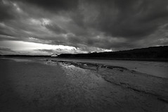 Day 323 of 366 Moody Place (Chris Willis 10) Tags: bw white black simon beach monochrome photo sait anglesey 366 aberffraw photo366 simonsait