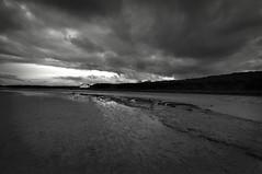 Day 323 of 366 Moody Place (Chris Willis 10) Tags: bw white black simon beach monochrome photo sait anglesey 366 aberffraw photo366 simonsait