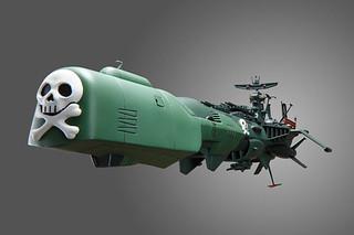 新世紀合金推出宇宙海賊アルカディア号三號艦