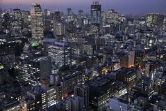 tokyo3767 (tanayan) Tags: world japan night observation tokyo town nikon cityscape view room center   trade hamamatsucho  d90 biluding