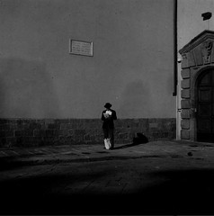 The man (guido.masi) Tags: bw man film florence streetphotography uomo firenze biancoenero automat analogic flexaret meopta guidomasi guidomasicarbonmadecom