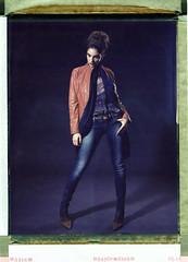 Olivera (Braca Nadezdic) Tags: portrait color girl fashion polaroid 8x10 sinar 809 hugoboss peeloff polaroid809 polaroid8x10 schneider300