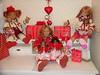 Drei große Kindergartenkinder und vier kleine Schluchtenscheißer (Kindergartenkinder) Tags: reki dolls margie annette minis puki tivi trachten himstedt lillemore kindergartenkinder leleti schluchtenscheiser sanrike