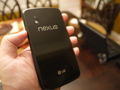 LG Nexus 4 (Back)