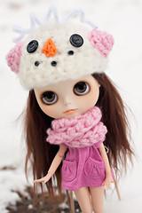 Quinn's New Winter Hat