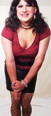 A slightly different view (BriannaGrant2011) Tags: drag tv cd crossdressing tgirl transgender tranny transvestite fishnets tall brianna dragqueen crossdresser crossdress ts tg tgurl briannagrant