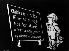 Children under 16 years of age not admitted unless accompanied by parent or guardian